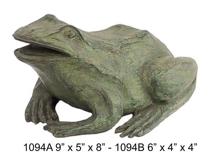 Bronze Frog Fountain - DD 1094AB
