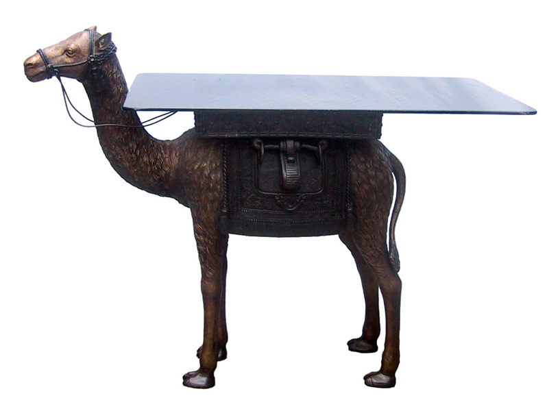 Bronze Camel Table