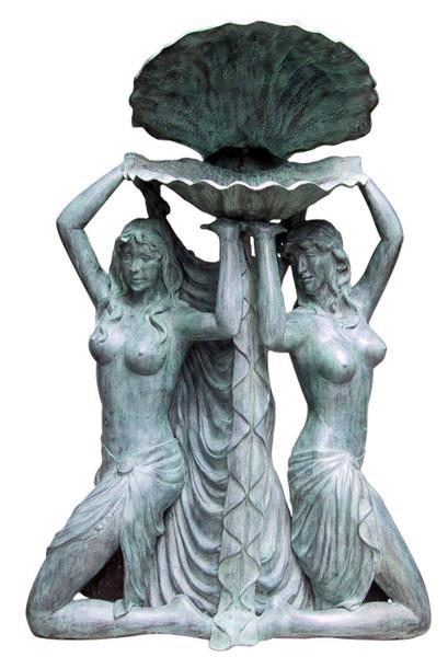Bronze Nudes Fountain - DK 1261A