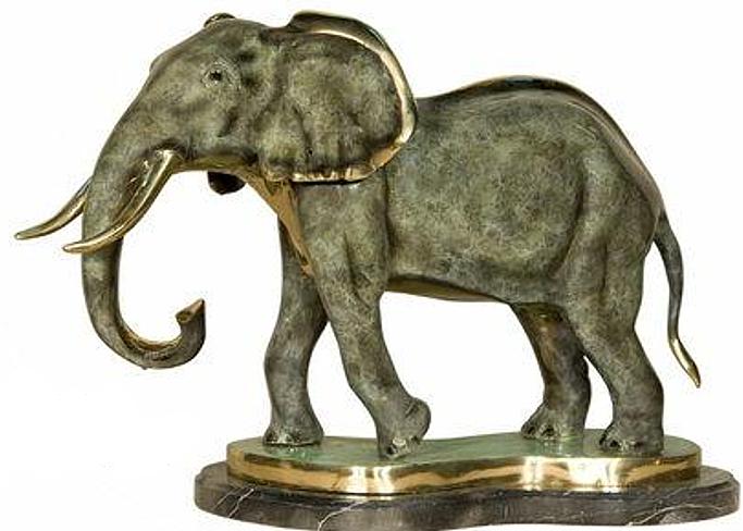 Bronze Elephant Statues - AF 18028NA