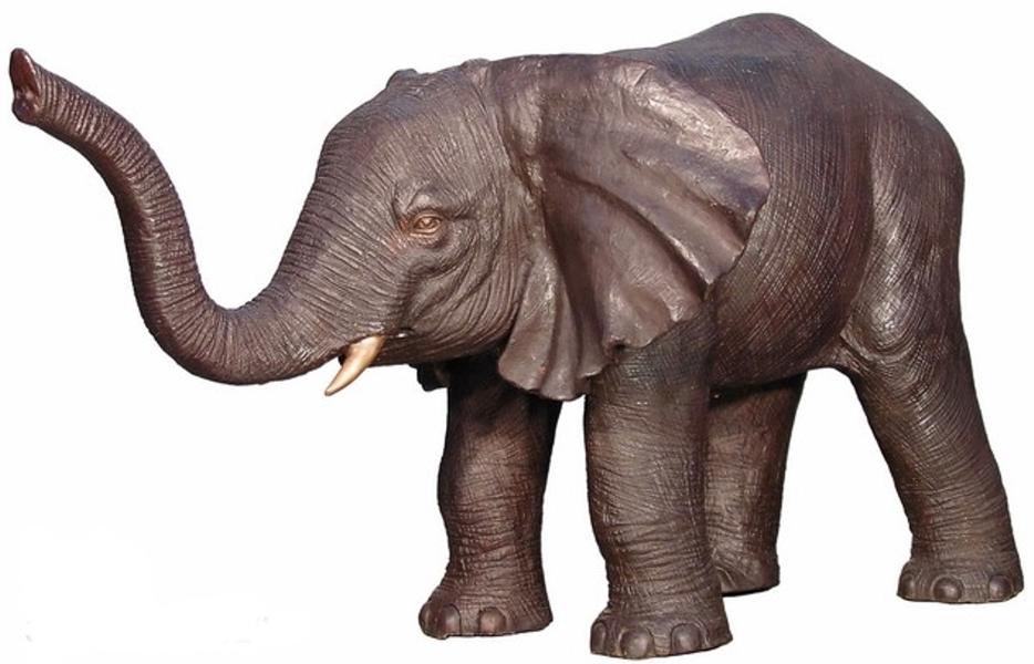 Bronze Elephant Statue - AF 28795