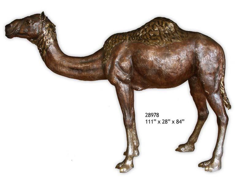 Bronze Camel Statue - AF 28978
