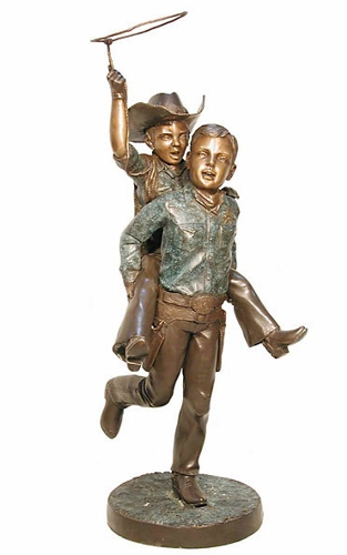 Bronze Cowboys Lasso - AF 29405