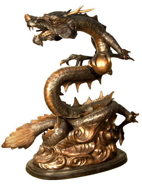 Bronze Dragon Fountains - AF 31090TT-F