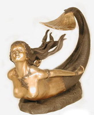 Bronze Unique Mermaid Tables - AF 32062