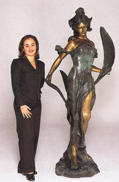 Bronze Diane Statue - ASB 352MO