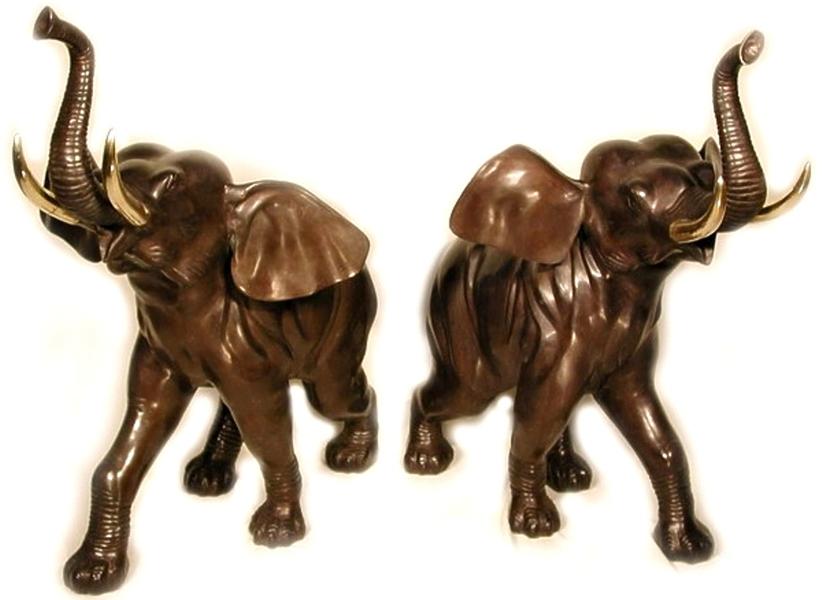 Bronze Elephant Statues - AF 40904