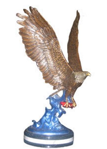 Bronze Eagle Statues - KT 451/8