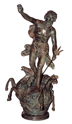 Bronze Neptune Fountain - BB 46-17