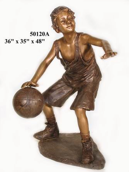 Bronze Basketball Player Referral - AF 50120A-R