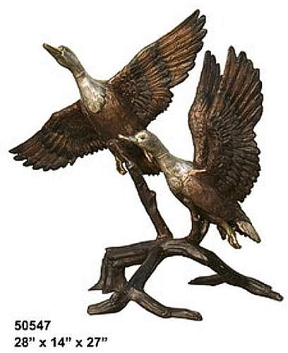 Bronze Flying Duck Fountain - AF 50547-F