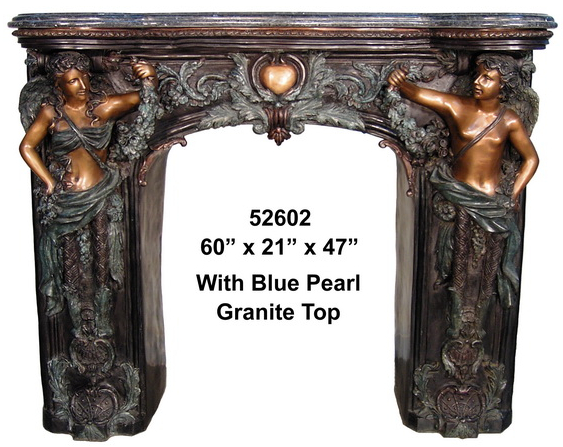 Bronze Fireplace Surround - AF 52602