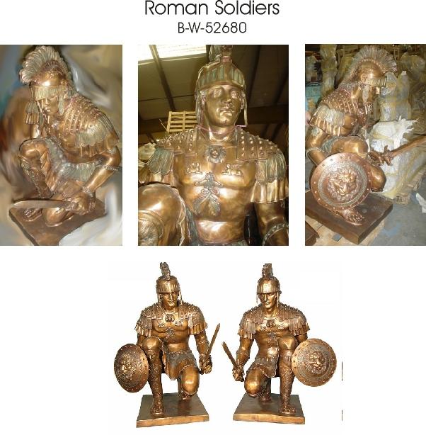 Bronze Spartan Statue - AF 52675/80