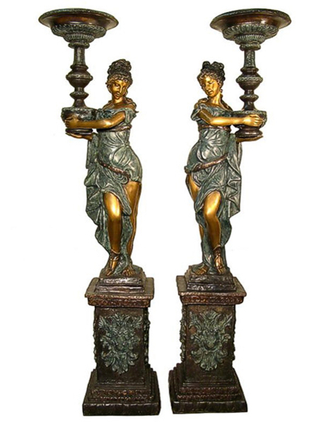 Bronze Classical Ladies Statue (Available with or without base) - AF 52717RL-S