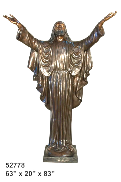 Bronze Jesus Statue - AF 52778