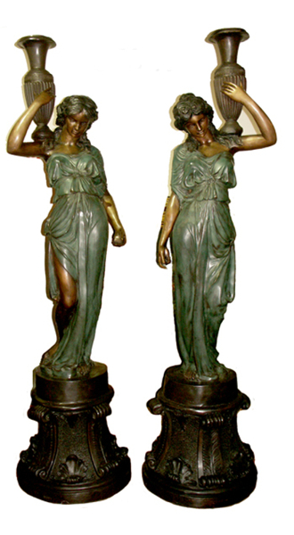 Bronze Ladies Statues (with or without base) - AF 55026- S