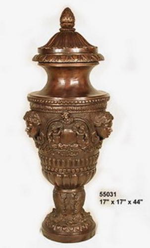 Bronze Lid Urn - AF 55031