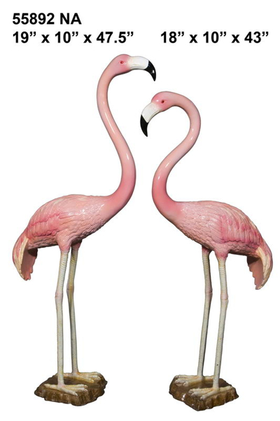 Bronze Flamingo Statue