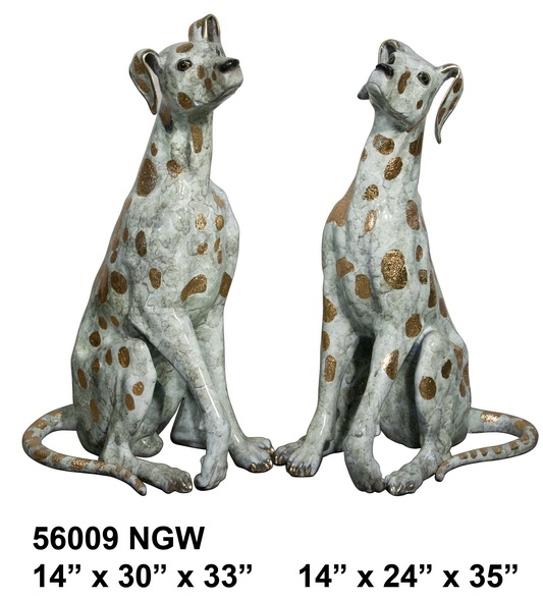 Bronze Dog Statue - AF 56009NGW