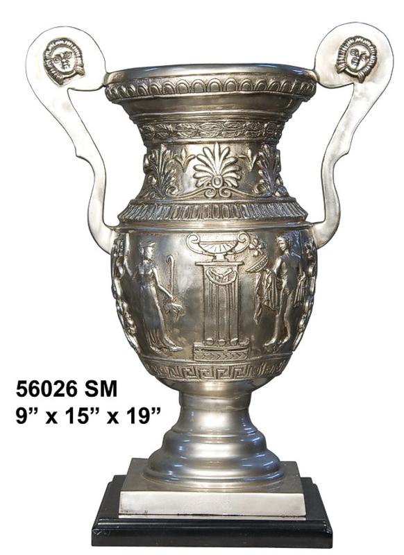 Bronze Urn with Handles - AF 56026SM