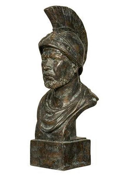 Bronze Roman Bust - AF 56288GR