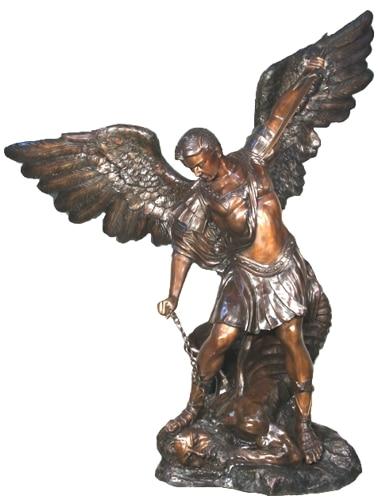 Bronze Michael Archangel Statue - AF 56635