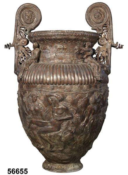 Bronze Urn with Handles - AF 56655