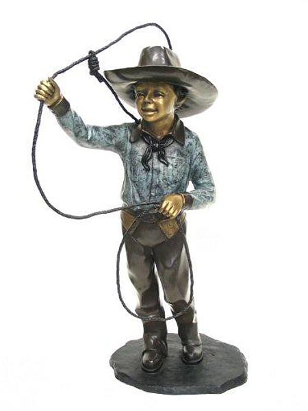 Bronze Cowboy Lasso - AF 57047
