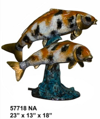 Bronze Fish Fountains - AF 57718NA