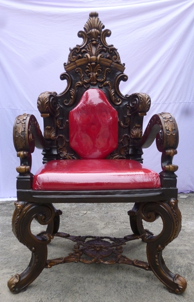 Bronze Throne Chair - DK 661