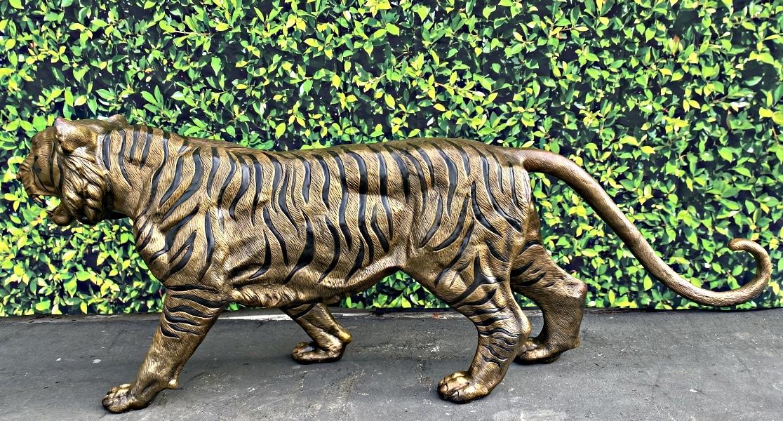 Bronze Tiger Statues - ASB 662