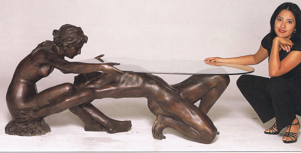Bronze Nude Table - ASB 722