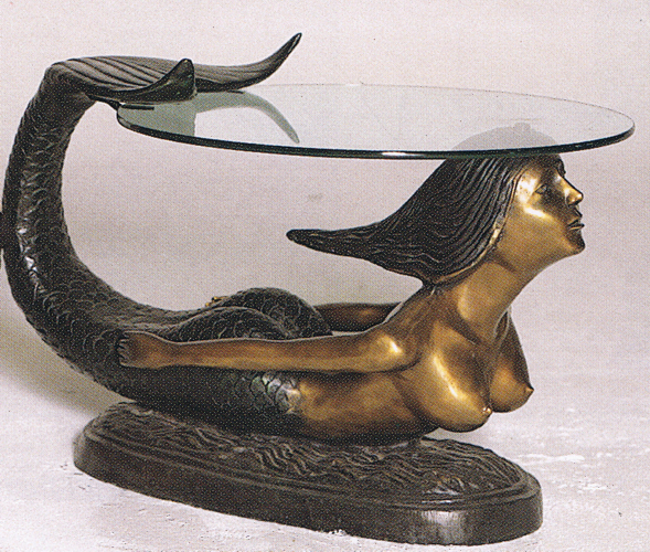 Bronze Unique Mermaid Tables - ASB 730