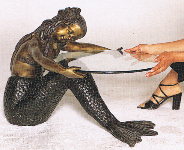Bronze Unique Mermaid Tables - ASB 732