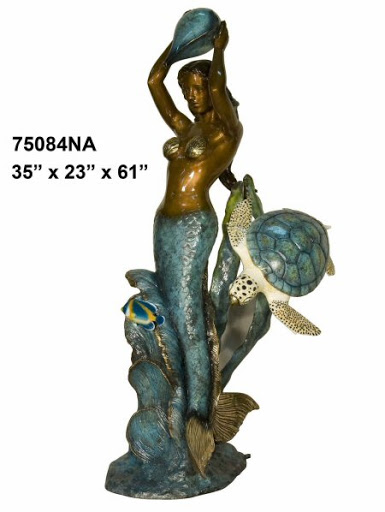 Bronze Mermaid Fountains - AF 74200NA