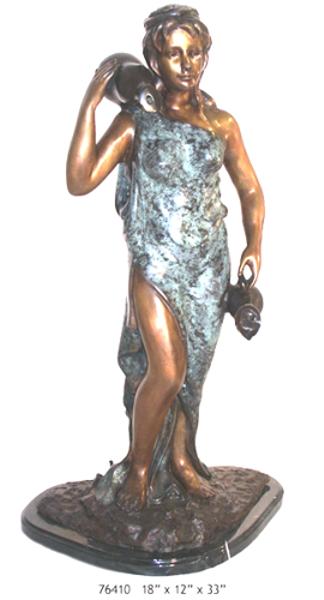 Bronze Urn Fountain - AF 76410