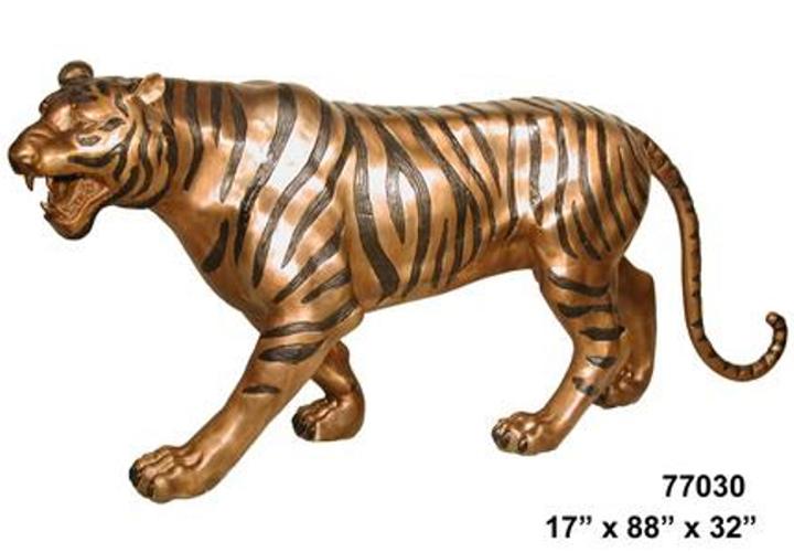 Bronze Tiger Statues - AF 77030