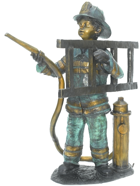 Bronze Fire Boy Statue - ASB 800