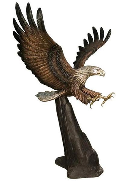 Bronze Eagle Statues - AF 81142
