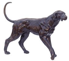 Bronze Pointer Dog Statue - ASB 822