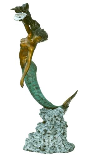 Bronze Mermaid Statues - ASB 831-S