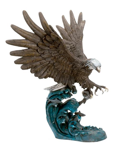 Bronze Eagle Statues - ASB 833