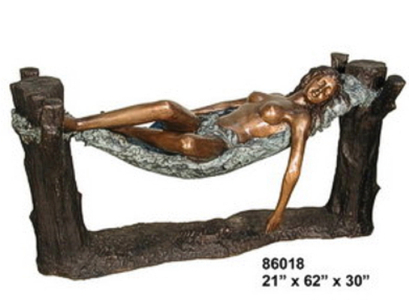 Bronze Nude Table - AF 86018