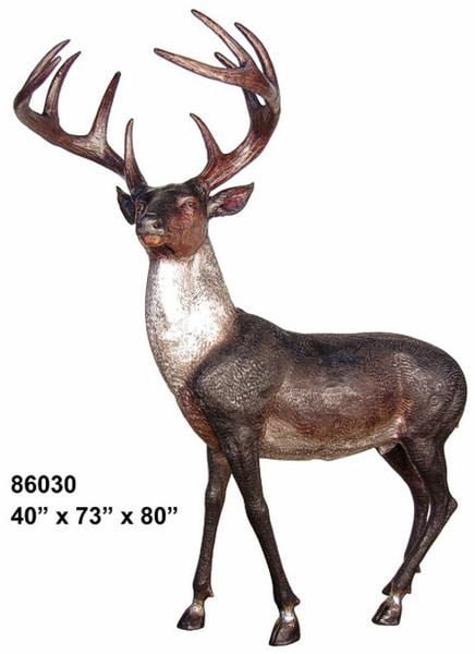 Bronze Deer Buck Statues - AF 86030
