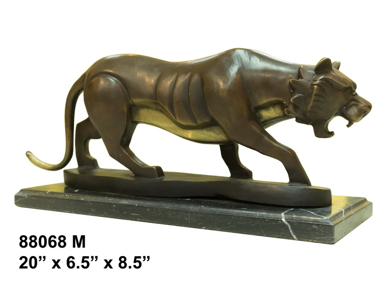 Bronze Tiger Statues - AF 88068