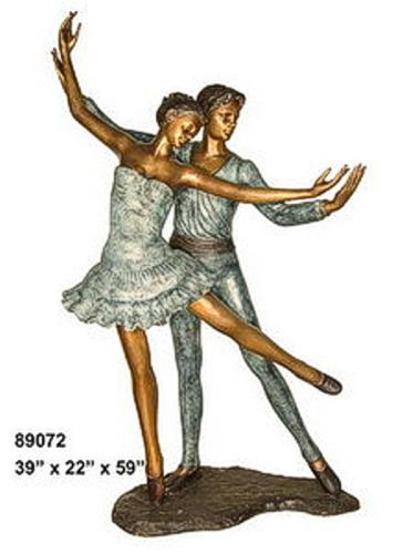 Bronze Ballerina Statue - AF 89072
