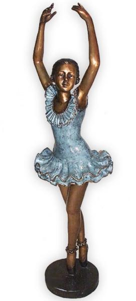 Bronze Ballerina Statue - AF 89090