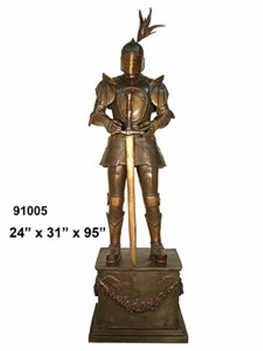 Bronze Knight School Mascot - AF 91005-Mascot