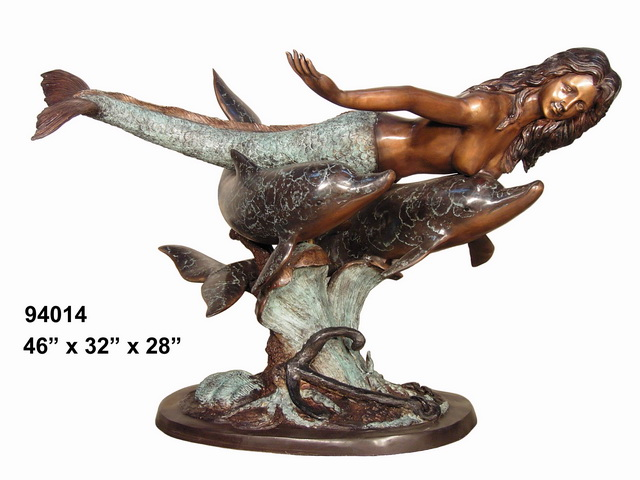 Bronze Mermaid Tables - AF 94014