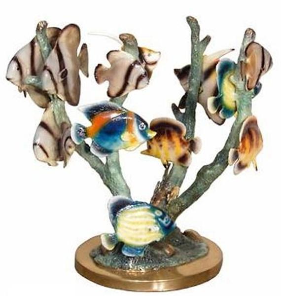 Bronze Coral Reef Statue - AF 94025NA-1